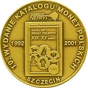 5 Zlotych / 10th Anniversary Polish coins catalog – revers