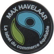 Jeton Max Havelaar – avers