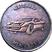 Jeton - Maserati Merak SS – avers