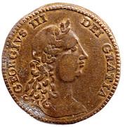George III Token – avers