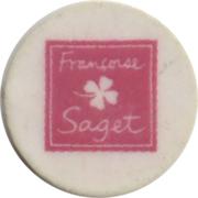 Jeton de chariot Françoise Saget – avers