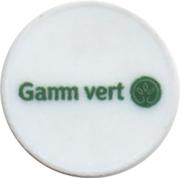Jeton de chariot Gamm vert – avers