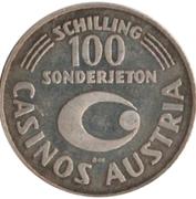 100 Schilling Casinos Austria – revers