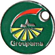 Jeton de chariot Groupama – avers
