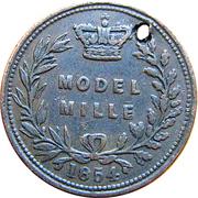 Model Mille – revers