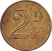 2 Pence – avers