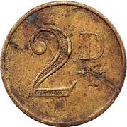 2 Pence – revers