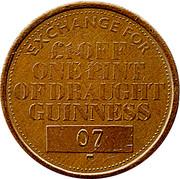 Draught Guinness Token – revers