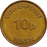 10 Pence Gowerpoint Token – revers