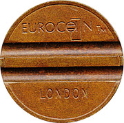 Eurocoin/London (Family Leisure) – avers