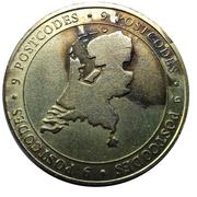 Nationale Postcode Loterij commercial token - 2012 48 miljoen Euro – avers