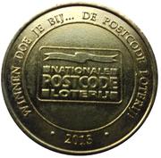 Nationale Postcode Loterij commercial token - 2013 48,9 miljoen Euro – avers