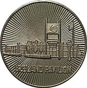 Irish Pavilion Medal – avers