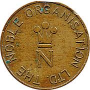 Token - The Noble Orgatisation Ltd. (Gold Award) – avers