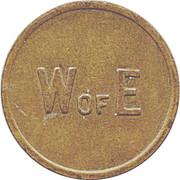 W of E Token – avers