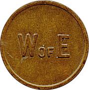 W of E Token – revers
