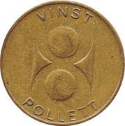 Vinst Pollett Token – avers