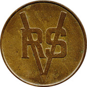 10 Pence RSV Token – avers