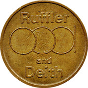 10 Pence - Ruffler and Deith – avers