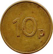 10 Pence - Ruffler and Deith – revers
