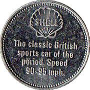 Jeton Shell - Bentley 4½ - Litre 1928 – revers
