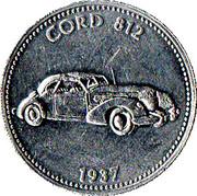 Jeton Shell - Cord 812 1937 – avers