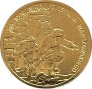 70. Rocznica Wybuchu Powstania Warszawskiego (70. Anniversary of Warsaw Uprising) – avers