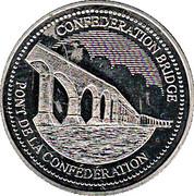 Token - Confederation Bridge - Gateway Village – avers