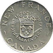 TERCENTENARY OF CANADIAN COINAGE 1670-1970 – revers