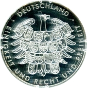 Token - Deutschland (Germany at the Summer Olympics in London 2012) – revers
