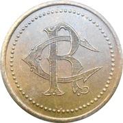 20 Francs - Casinode Royat [63] – revers