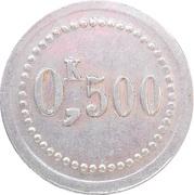 0,500 kg - Union des agents du Nord - Laon (02) – revers