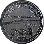Token - NRA (M1903 Rifle Series) – avers
