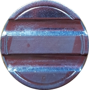Blank Token (with 2 grooves; 23 mm) – avers