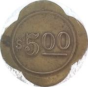 5 Dollars - 405 Illinois Ave – revers