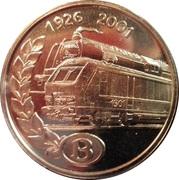75 ans de la SNCB – avers