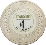 Maxim Casino (Las Vegas, NV.) – revers