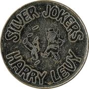 Jeton Silver jokers - Harry Levy – avers