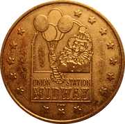 Union Station Midway Token – avers