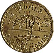 No Cash Value - Las Palmas Inn (Orlando Florida) – avers