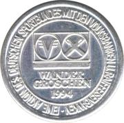 Wander Groschen (Volksbank and Raiffeisenbank) – revers
