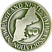 Token - New England Numismatic Association (21th Convention) – revers