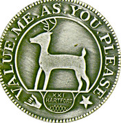 Token - New England Numismatic Association (21th Convention) – avers