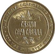 25 Cents Game Token (Casino Copa Cabana - Hyatt Regency Aruba) – avers