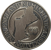 Token - New England Numismatic Association (27th Convention) – revers