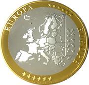 "Monaco 20 Euro 2002 ""First Strike of the Euro Countries"" – revers"