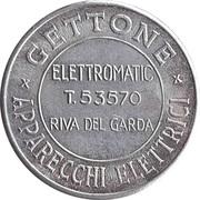 Token - Gettone Apparecchi Elettrici (Riva del Garda) – avers