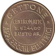 Jukebox Token - Gettone Apparecchi Elettrici (Centromatic, Busto Ar.) – avers