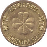 Game Token - MTM Casino & Slots Argentina S.A. – avers