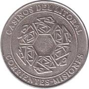 Game Token - Casinos del Litoral (Corientes-Missiones) – avers